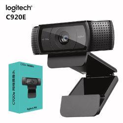 C920e HD PRO Webcam Cámara 1080P de Autofocus y grabación de pantalla panorámica de las videollamadas C920 Web USB para PC de escritorio o portátil.