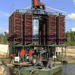 Equipos de minería de la gravedad de Zircon Sand Titanium de separación del mineral de hierro