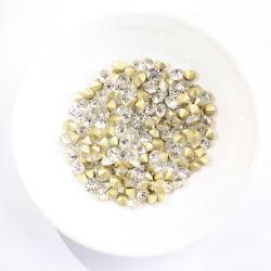 Comercio al por mayor de pequeño tamaño, Pointback Vidrio Cristal Strass Thrving Mc Chaton Rhinestones para joyería