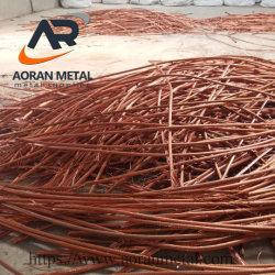 Высокая степень чистоты 99,9%мин медного провода лома черных металлов