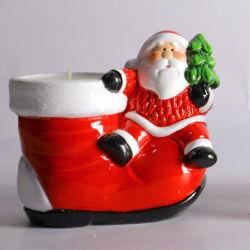 По вопросу о торговле Рождество Керамический декор Санта и башмаки форму для дома украшения