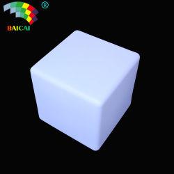مصباح LED للمناسبة الخارجية طاولة مكعب مصباح بلاستيكي مصباح مكعب LED للبيع