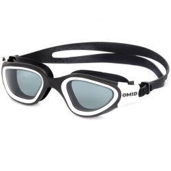 Occhiali di protezione della piscina di colore della miscela degli occhiali di protezione di nuoto della prova della perdita degli occhiali di protezione dell'acqua calda del Amazon su ordinazione
