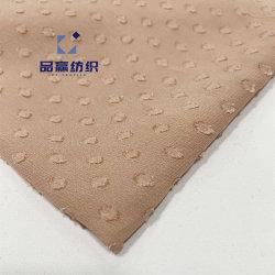 Ym2003 Жаккард точек 30GSM из тончайшего шелка конструкции как вискоза района ткань розового цвета