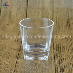 200ml Weinkonsum-Cup-quadratisches unteres runde Oberseite-Whisky-Glas