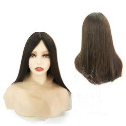 卸売の女性の毛の枝 100% ブラジル人の毛の完全なレース ウィッグスシルクトップウィッグユダヤ人ウィグコーシャーウィッグシテルスウィッグ 工場カスタムヘアウィッグペルーク