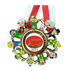 Custom металлические Racing спортивные награды трофей медаль и медальон