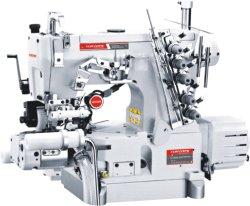 Machine à coudre de verrouillage automatique avec couteau de coupe de tissu de droite