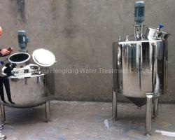 304, Acero Inoxidable 316L capas de salsa depósito mezclador Triple revestido con almacenamiento y conservación de calor