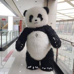 Новый Panda Косплей Костюм надувные несут талисман костюм для взрослых мультфильм Panda надувной костюм