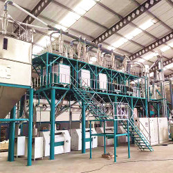 Maisseibe Maiskorn Getreidemehl-Fräsmaschinen Mit Hoher Leistung