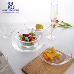높은 투명도 음식 서빙 GB2315-6를 위한 고품질을%s 가진 유리제 접시 공간 격판덮개