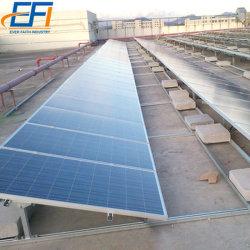 نظام تثبيت مسطح للسقف الشمسي ذو السقف الشمسي بالواح الشمسية