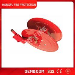 Padrão 1 Polegada 12bar 30m de mangueira de incêndio do Tambor do Molinete de Mangueira de Incêndio Manual do Molinete
