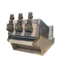protección del medio ambiente Filtro de maquinaria agrícola de la placa múltiple de la Unidad de Prensa de tornillo de deshidratación de lodos para espesar