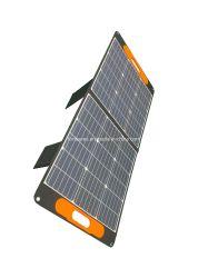 Opvouwbare ETFE-oplader voor zonnepanelen van 100 W met 18 VDC en 5 V USB Uitvoer