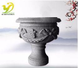 YJ-HP-001X Made in China, Aussicious, piccolo fiore Pot realizzato da Verniciatura a spruzzo in granito per la lavorazione della pietra architettura paesaggistica Artigianato da giardino