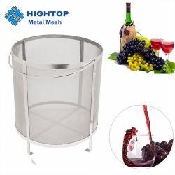 300ミクロンのステンレス鋼の網の醸造物の鍋のための乾燥したホツプのバスケットフィルター