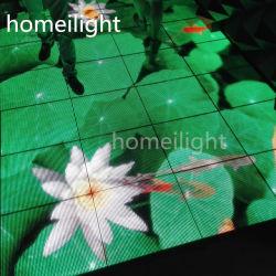 Pista da ballo video interattiva con schermo LED RGB a colori P12,5 mm