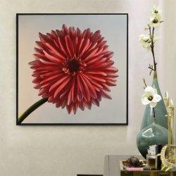 브러시 알루미늄 꽃 유화 현대 인테리어 벽 수공예 실내 장식 도매