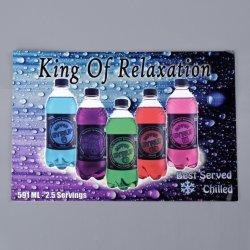 """PVC che fa pubblicità al contrassegno della decalcomania degli autoadesivi per il portello di vetro Cmyk 10.7 """" X7.5 """" del frigorifero"""