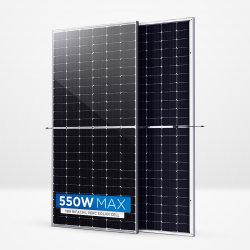 A tecnologia mais recente Trina Bifacial Vidro duplo Módulo Monocrstalline Painel Solar 530W 535W 540W 545W 550W para a Energia Solar System