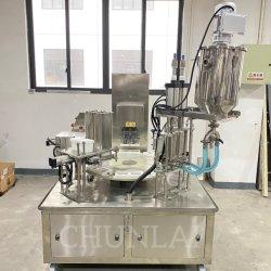 Automatique de l'houmous tasse de yogourt liquide jus Remplissage Remplissage de la machine et l'étanchéité d'étanchéité de l'équipement pour la sauce chili