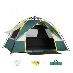 방수 야외 캠핑 비치 자동 인스턴트 비치 선 3-4인용 텐트를 위한 그늘진 보호막