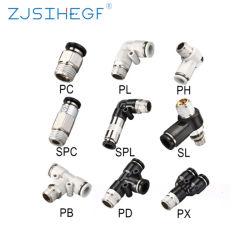 PC/Pl/Pb/Pd/PX/SL/pH/SPC/SPL Pneumatic raccordo rapido raccordi tubi pneumatici parti di ricambio per tubi flessibili Accessori per compressori