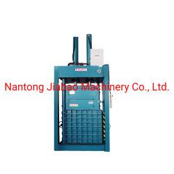 Plástico máquina empacadora de hidráulica de enfardado de residuos de plástico Máquina/botella PET el rescate de la máquina de prensa