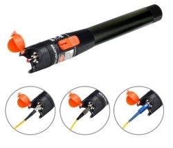 光ファイバケーブルのテスター10-30kmレーザー30MWの視覚欠陥のロケータの赤灯のペンソース光ファイバテストペン