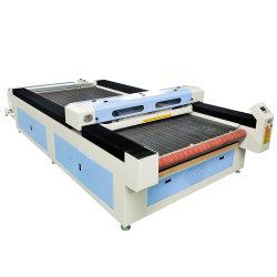 ماكينة قطع الليزر من النسيج ذات التغذية الآلية من طراز MC 1630 للقطع النسيجي غطاء كرسي السيارة للملابس