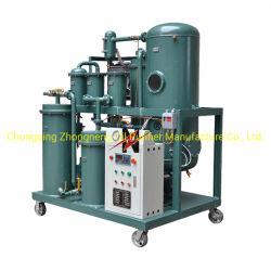 Purificador de óleo hidráulico para remover a água e partículas de óleo