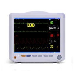 휴대용 고해상도 12.1인치 의료 다중 매개변수 모니터링 시스템 모듈식 침상 바이탈 사인 환자 모니터