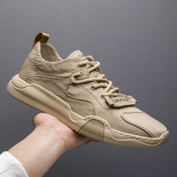 Logo personnalisé de haute qualité Vintage Retro Semelle en caoutchouc antiglisse tissu de toile de jeunes hommes collège de garçons Chaussures de sport occasionnel Sneaker