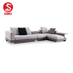 La tela o cuero sofá de la sala juego de muebles Home Hotel sofá
