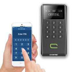 El teclado de pantalla OLED El Control de acceso RFID BLE direccionable con lector de El Puerto serie RS485 Osdp