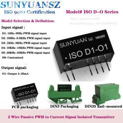 수동형 PWM 주파수 신호를 4-20mA 컨버터로 전송