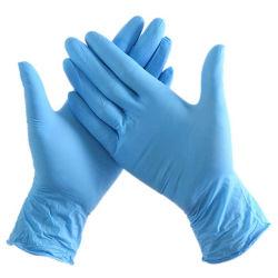 100 PCS Blue sem pó mão protectora de Segurança Luvas Exame descartáveis Luvas de nitrilo