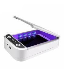 熱いSale Portable 59s Ozone Toothbrush Baby Bottle UVC LED紫外線Light Lamp Sterilizer Box Sterilization Equipments Wand紫外線Cell Mobile Phone Sanitizer Box