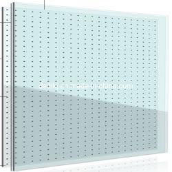 Publicidade Shopping da parede de vidro transparente/LED de vidro Screenp30, P35, P40, P50, P60