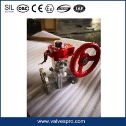 Meccanismo manuale dell'azionatore con la lega di alluminio dell'indicatore Declutchable