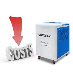 물 저축 자동차 에어 컨디셔너 내장된 세균성 증기 차 세탁기