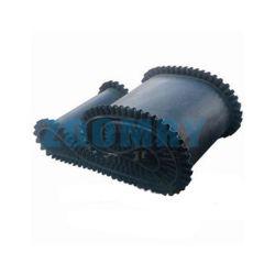 厚さ 10mm Ep100 クロス挿入ゴム製コンベアベルト補強材付き ナイロン素材
