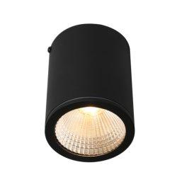 Refletor LED IP65 60grau 3000K CREE COB alpendre exterior de iluminação 18W pendente de LED luzes para baixo do teto de luz para iluminação de Suspensão do engenheiro Terraço