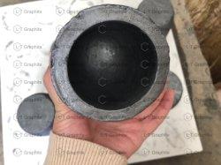 Gießerei-Lehm-Graphittiegel-schwarze Cup-Ofen-Fackel-schmelzendes Gussteil-Raffinierungs-Goldsilber-Kupfer-Messing-Aluminium