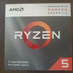 AMD Ryzen 5 3400g 4 코어 3.7GHz CPU AM4 소켓 데스크탑 CPU 프로세서
