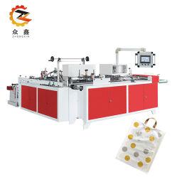 Termosaldatura professionale taglio a freddo manico in plastica macchina per la produzione di sacchetti