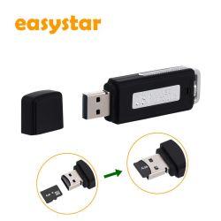 USB 기록 U 디스크 오디오 펜 소형 디지털 USB 녹음기 재충전용 딕터폰