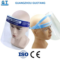 Completa protección antivirus de claro/niebla/Splash Aislamiento protector facial